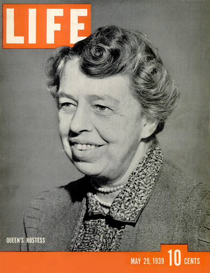 Queens Hostess 29 May 1939 Copyright Life Magazine | Life Magazine BW Photo Covers 1936-1970