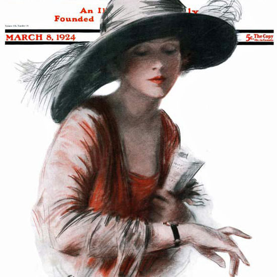 RM Crosby Saturday Evening Post Cover Art 1924_03_08 Copyright crop | Best of 1920s Ad and Cover Art