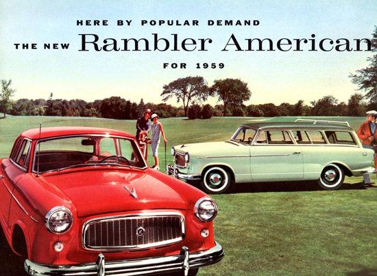 Rambler American Club N Station Wagon 1959 | Vintage Cars 1891-1970