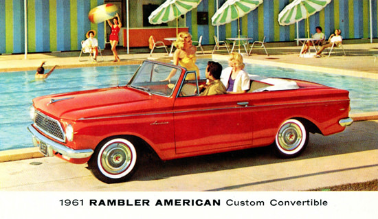 Rambler American Custom Convertible 1961 | Vintage Cars 1891-1970