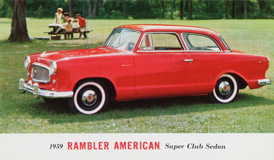 Rambler American Super Club Sedan 1959 | Vintage Cars 1891-1970