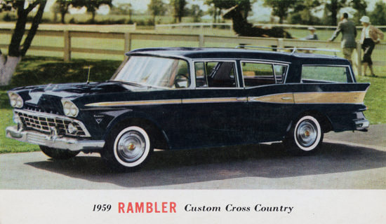 Rambler Custom Cross Country Station 1959 | Vintage Cars 1891-1970