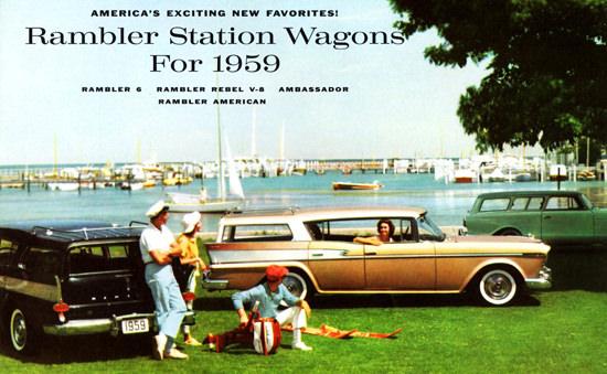 Rambler Station 1959 Rebel Ambassador American | Vintage Cars 1891-1970