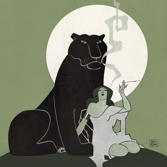 Ray Rohn The New Yorker 1925_03_28 Copyright crop | Best of 1920s Ad and Cover Art