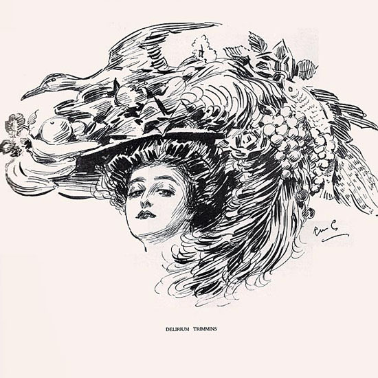 Raymond M Crosby Life Delirium Trimmins 1908-12-10 Copyright crop | Best of Vintage Cover Art 1900-1970
