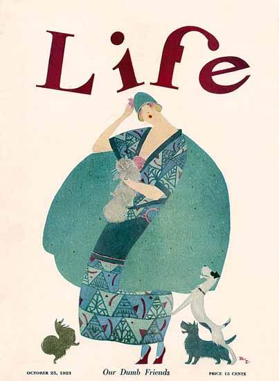 Rea Irvin Life Humor Magazine 1923-10-25 Copyright   Life Magazine Graphic Art Covers 1891-1936