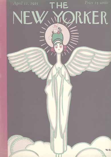 Rea Irvin The New Yorker 1925_04_11 Copyright | The New Yorker Graphic Art Covers 1925-1945