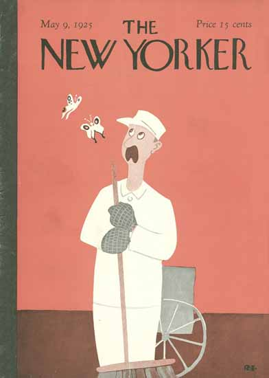 Rea Irvin The New Yorker 1925_05_09 Copyright | The New Yorker Graphic Art Covers 1925-1945