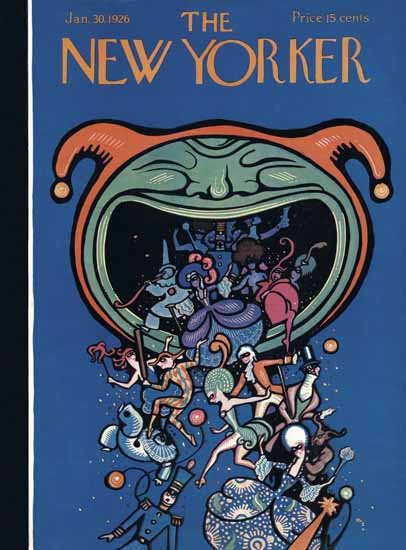 Rea Irvin The New Yorker 1926_01_30 Copyright | The New Yorker Graphic Art Covers 1925-1945