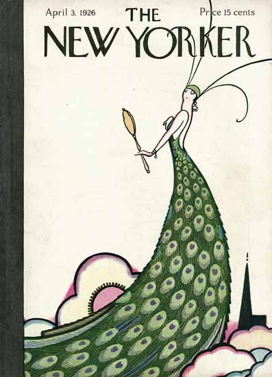 Rea Irvin The New Yorker 1926_04_03 Copyright | The New Yorker Graphic Art Covers 1925-1945