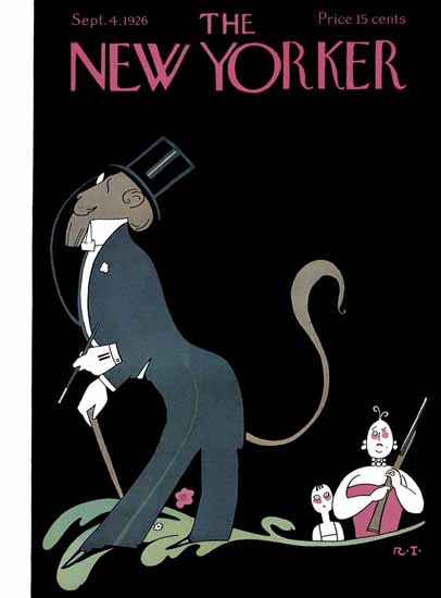 Rea Irvin The New Yorker 1926_09_04 Copyright | The New Yorker Graphic Art Covers 1925-1945