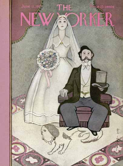 Rea Irvin The New Yorker 1927_06_11 Copyright | The New Yorker Graphic Art Covers 1925-1945