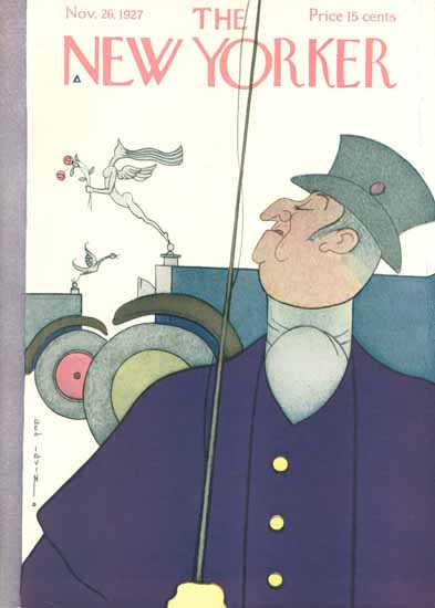 Rea Irvin The New Yorker 1927_11_26 Copyright | The New Yorker Graphic Art Covers 1925-1945