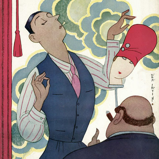 Rea Irvin The New Yorker 1928_09_29 Copyright crop | Best of Vintage Cover Art 1900-1970