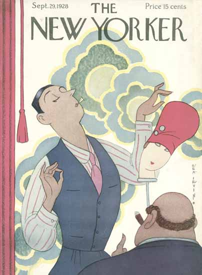 Rea Irvin The New Yorker 1928_09_29 Copyright | The New Yorker Graphic Art Covers 1925-1945