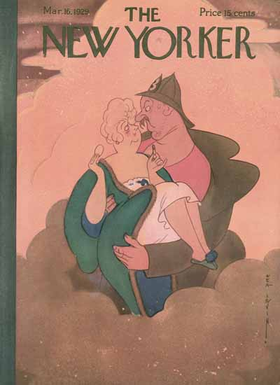 Rea Irvin The New Yorker 1929_03_16 Copyright | The New Yorker Graphic Art Covers 1925-1945