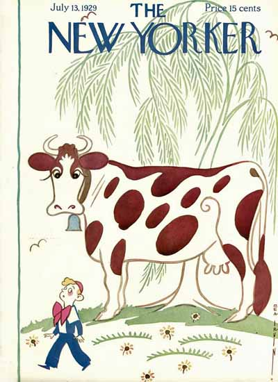 Rea Irvin The New Yorker 1929_07_13 Copyright | The New Yorker Graphic Art Covers 1925-1945