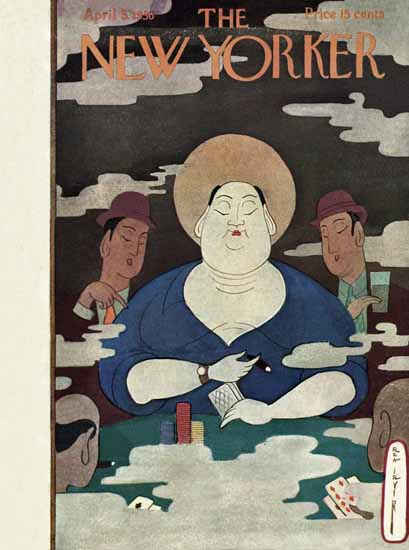 Rea Irvin The New Yorker 1930_04_05 Copyright | The New Yorker Graphic Art Covers 1925-1945