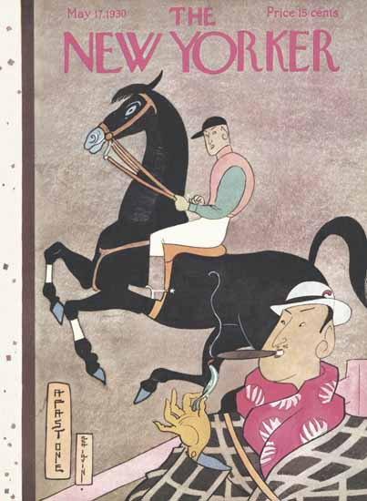 Rea Irvin The New Yorker 1930_05_17 Copyright | The New Yorker Graphic Art Covers 1925-1945