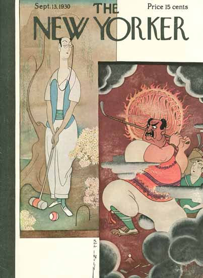 Rea Irvin The New Yorker 1930_09_13 Copyright | The New Yorker Graphic Art Covers 1925-1945