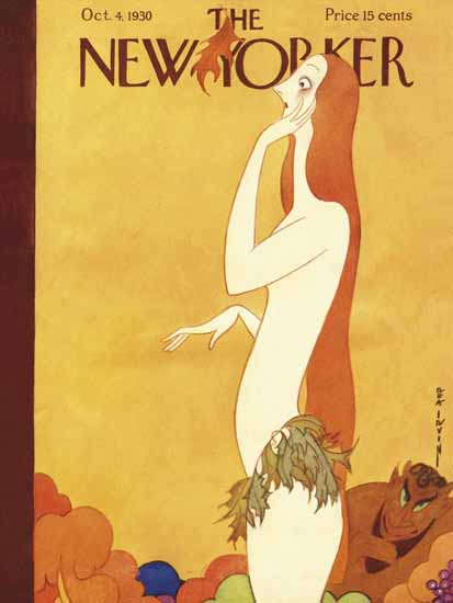 Rea Irvin The New Yorker 1930_10_04 Copyright | The New Yorker Graphic Art Covers 1925-1945