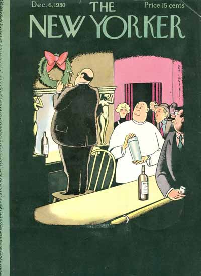 Rea Irvin The New Yorker 1930_12_06 Copyright | The New Yorker Graphic Art Covers 1925-1945