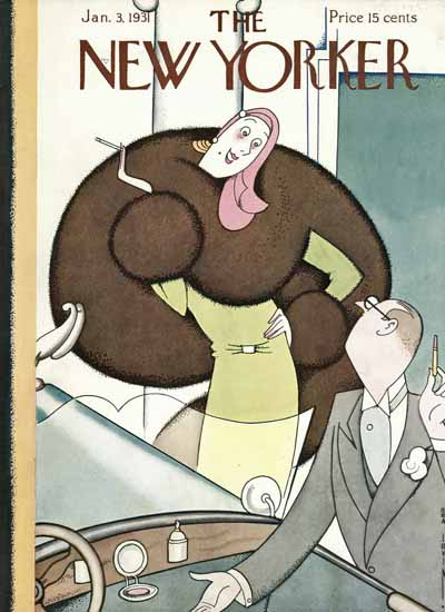 Rea Irvin The New Yorker 1931_01_03 Copyright | The New Yorker Graphic Art Covers 1925-1945