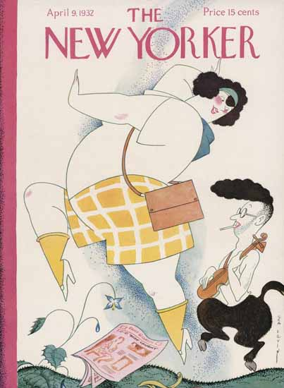 Rea Irvin The New Yorker 1932_04_09 Copyright | The New Yorker Graphic Art Covers 1925-1945