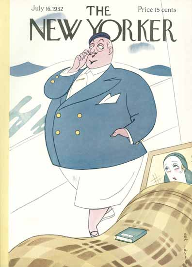 Rea Irvin The New Yorker 1932_07_16 Copyright | The New Yorker Graphic Art Covers 1925-1945