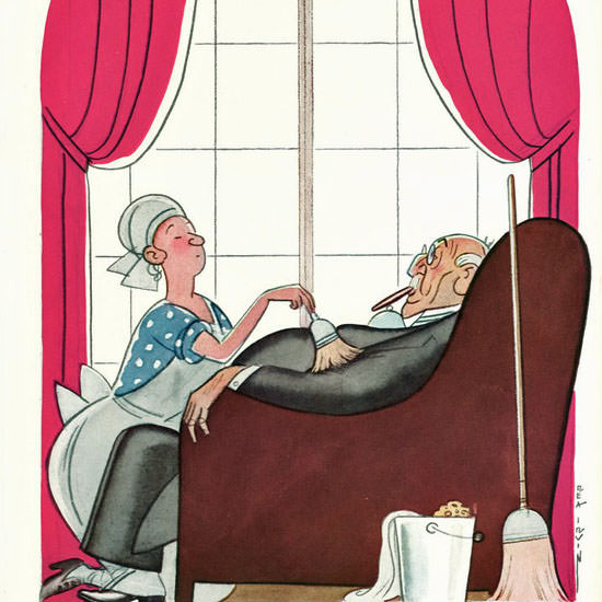Rea Irvin The New Yorker 1933_02_04 Copyright crop | Best of 1930s Ad and Cover Art