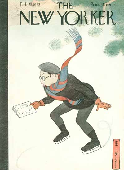 Rea Irvin The New Yorker 1933_02_25 Copyright | The New Yorker Graphic Art Covers 1925-1945