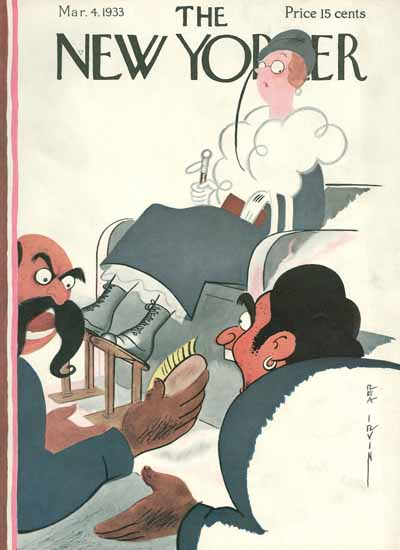 Rea Irvin The New Yorker 1933_03_04 Copyright | The New Yorker Graphic Art Covers 1925-1945