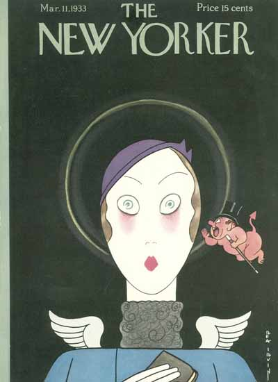 Rea Irvin The New Yorker 1933_03_11 Copyright   The New Yorker Graphic Art Covers 1925-1945