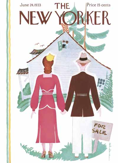 Rea Irvin The New Yorker 1933_06_24 Copyright | The New Yorker Graphic Art Covers 1925-1945