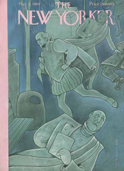 Rea Irvin The New Yorker 1934_05_05 Copyright | The New Yorker Graphic Art Covers 1925-1945