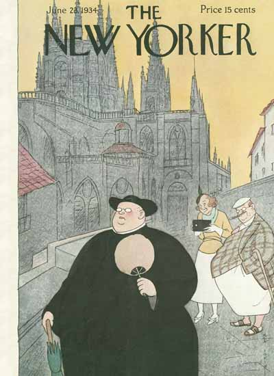 Rea Irvin The New Yorker 1934_06_23 Copyright | The New Yorker Graphic Art Covers 1925-1945