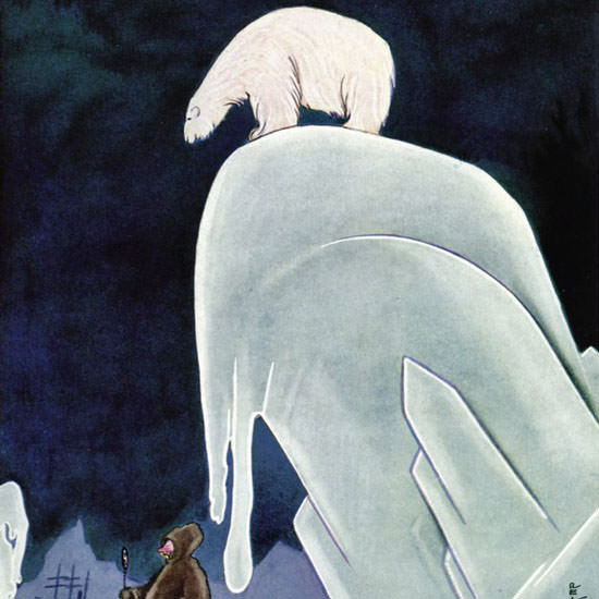 Rea Irvin The New Yorker 1934_07_14 Copyright crop | Best of Vintage Cover Art 1900-1970