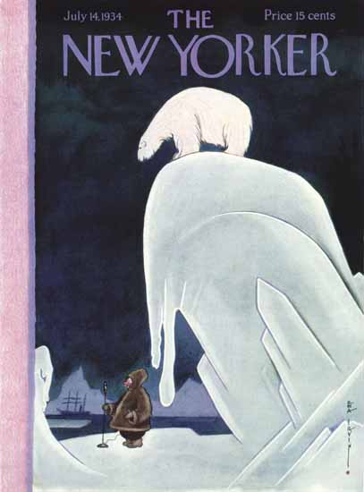 Rea Irvin The New Yorker 1934_07_14 Copyright | The New Yorker Graphic Art Covers 1925-1945