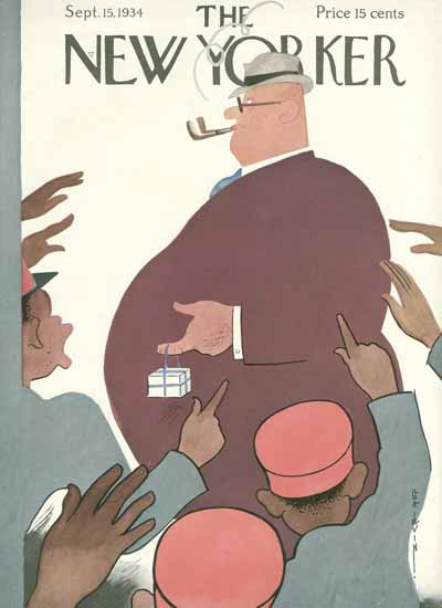 Rea Irvin The New Yorker 1934_09_15 Copyright | The New Yorker Graphic Art Covers 1925-1945