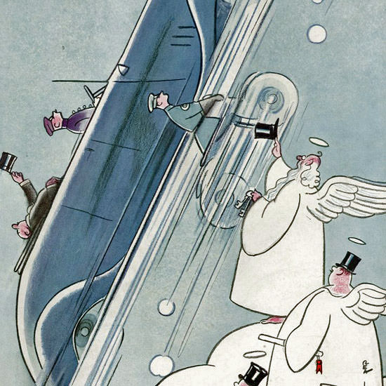 Rea Irvin The New Yorker 1934_10_13 Copyright crop | Best of Vintage Cover Art 1900-1970