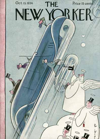 Rea Irvin The New Yorker 1934_10_13 Copyright | The New Yorker Graphic Art Covers 1925-1945