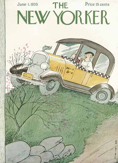 Rea Irvin The New Yorker 1935_06_01 Copyright | The New Yorker Graphic Art Covers 1925-1945