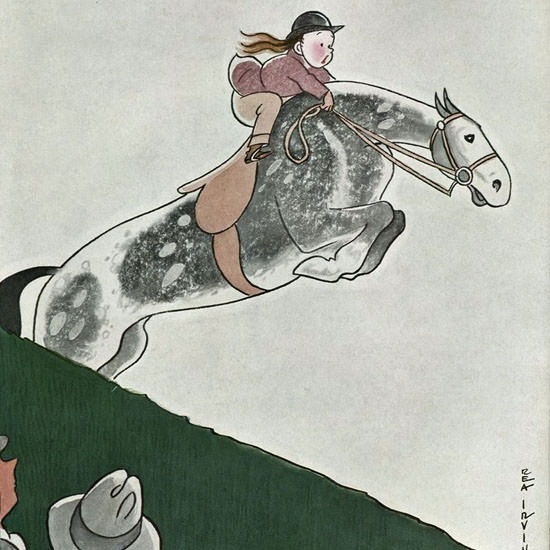 Rea Irvin The New Yorker 1935_08_24 Copyright crop | Best of Vintage Cover Art 1900-1970