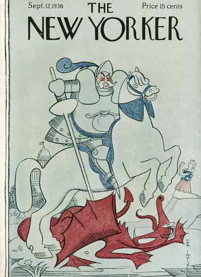 Rea Irvin The New Yorker 1936_09_12 Copyright   The New Yorker Graphic Art Covers 1925-1945