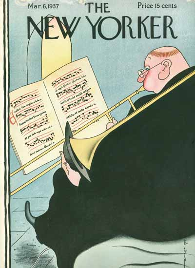 Rea Irvin The New Yorker 1937_03_06 Copyright | The New Yorker Graphic Art Covers 1925-1945