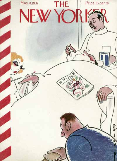 Rea Irvin The New Yorker 1937_05_08 Copyright | The New Yorker Graphic Art Covers 1925-1945