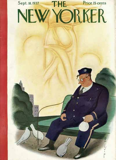 Rea Irvin The New Yorker 1937_09_18 Copyright | The New Yorker Graphic Art Covers 1925-1945