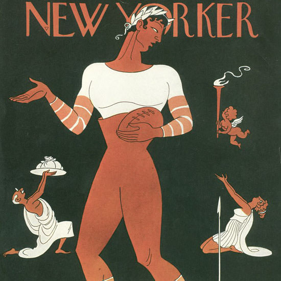Rea Irvin The New Yorker 1937_11_13 Copyright crop | Best of 1930s Ad and Cover Art