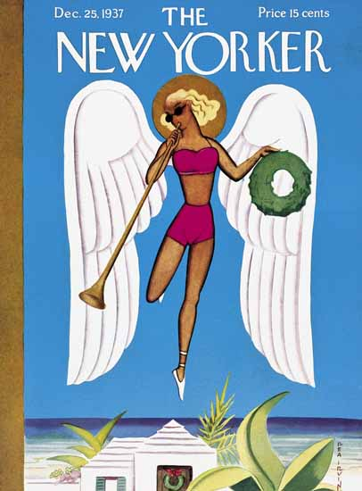 Rea Irvin The New Yorker 1937_12_25 Copyright | The New Yorker Graphic Art Covers 1925-1945