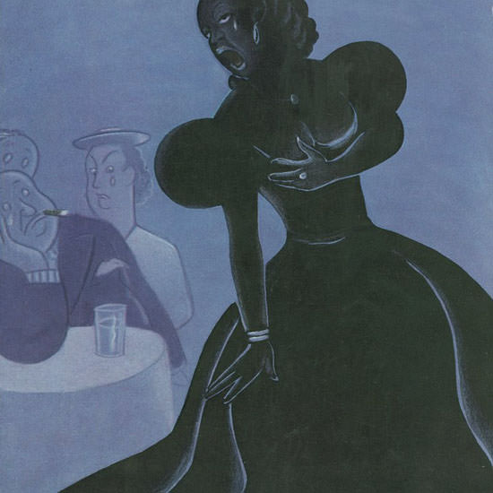Rea Irvin The New Yorker 1938_05_21 Copyright crop | Best of Vintage Cover Art 1900-1970